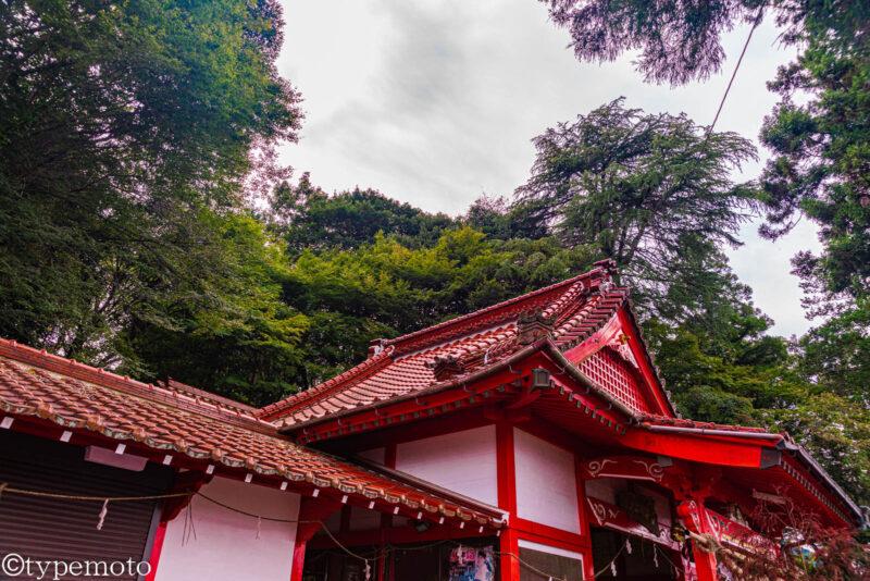 浮羽稲荷神社拝殿
